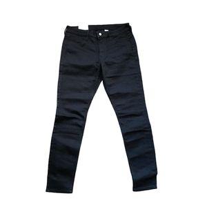 H&M skinny & Denim jeans black size 8